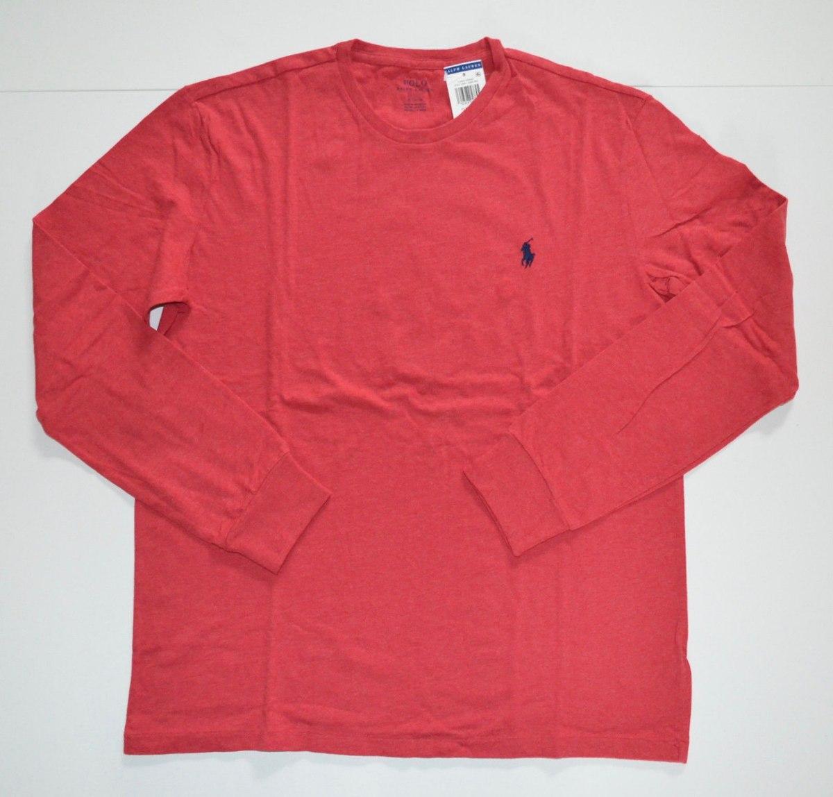 camiseta básica polo ralph lauren ggg xxl manga comprida. Carregando zoom. 4e58bb81aed
