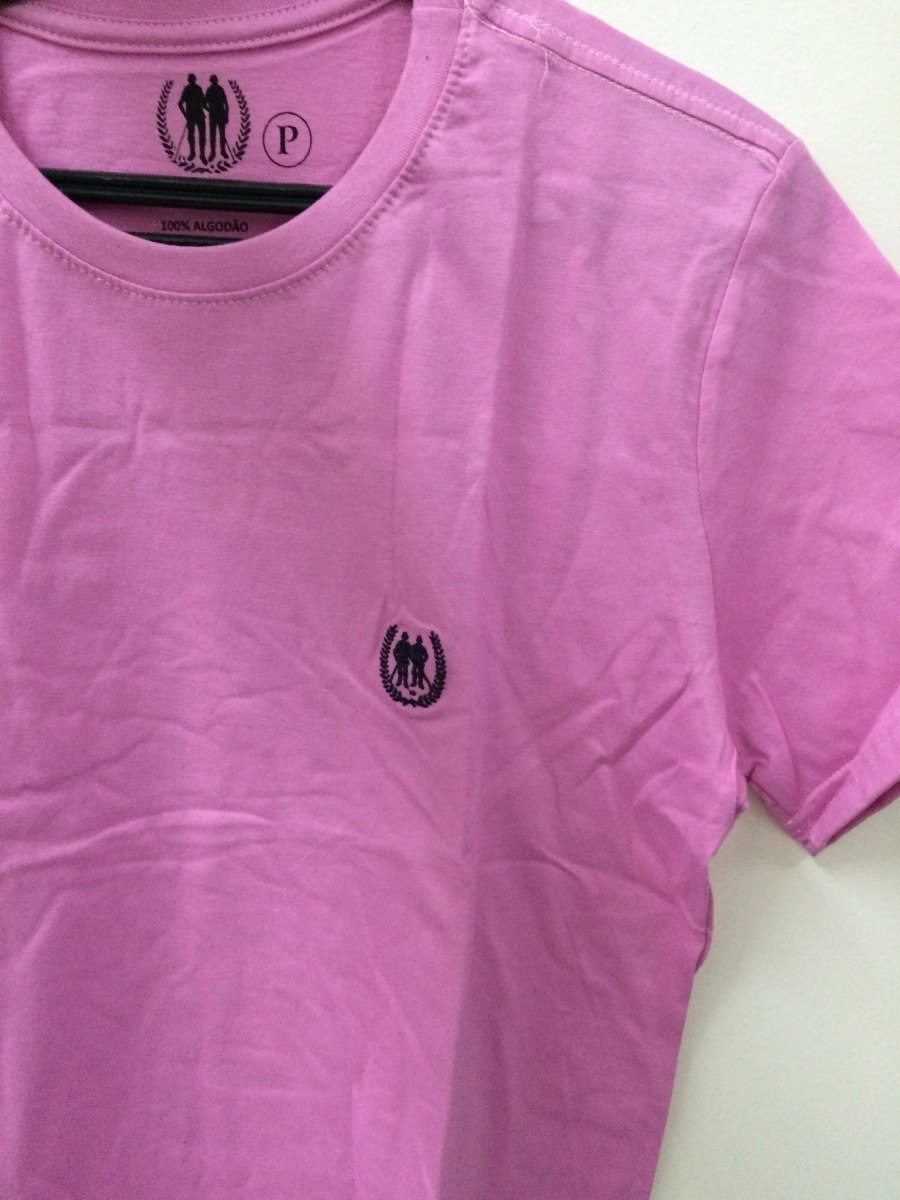 fa8467b4c1276 camiseta básica polo wear original rosa x0013679. Carregando zoom.