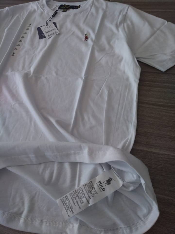 camiseta basica tshirt polo ralph lauren original peruana. Carregando zoom. 6f0b1b86647