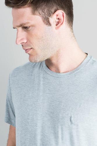 camiseta basica viscose mescla reserva