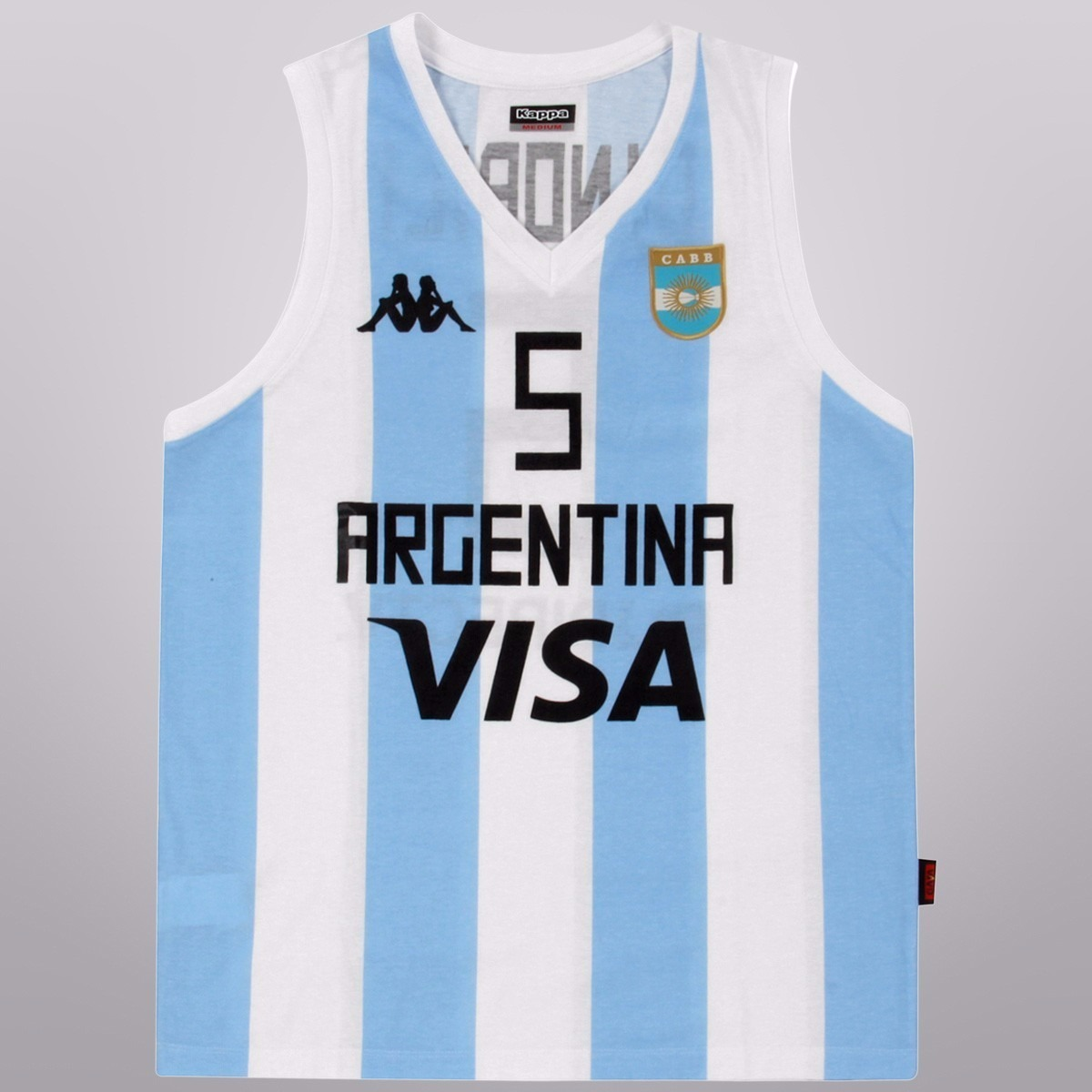 91217c8959de7 camiseta basket kappa cabb seleccion argentina original. Cargando zoom.