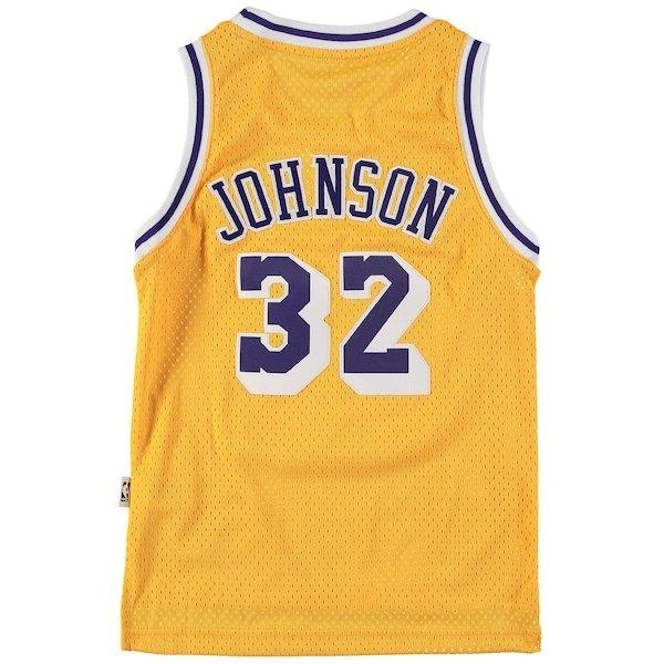 0d7f5494f Camiseta Básquet adidas Original Lakers Magic Johnson -   2.650