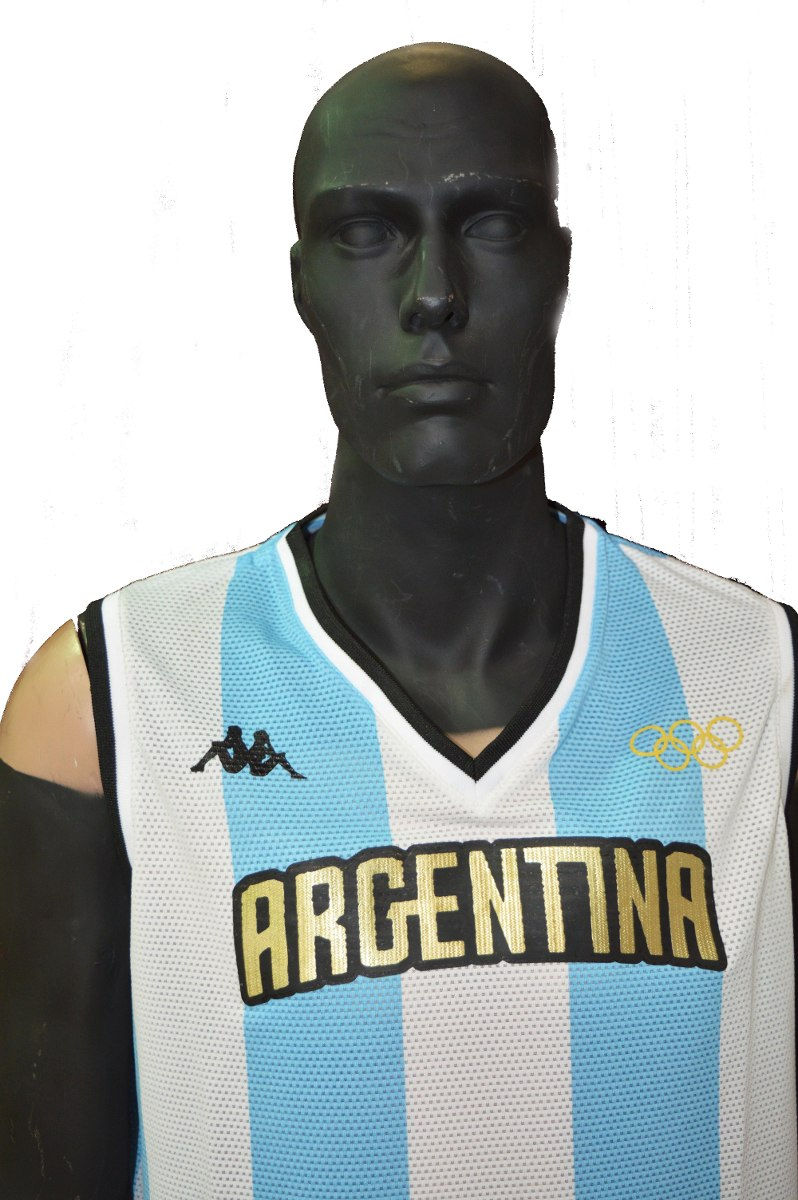 Camiseta Basquet Argentina Kappa Rio 2016 -   1.149 a4a079378c97f