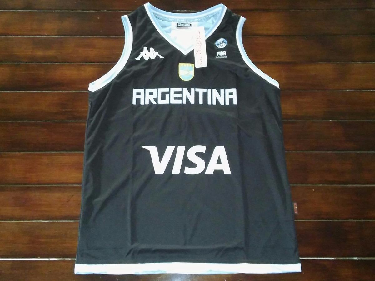 cd16fbcf87f6a Camiseta Basquet Kappa Cabb Arg. Alternativa Mundial 2014 -   1.600 ...