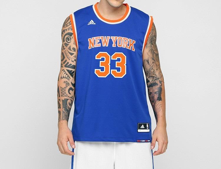 0f5033940 Camiseta Basquete adidas New York Knicks Ewing 33 Original - R  89 ...