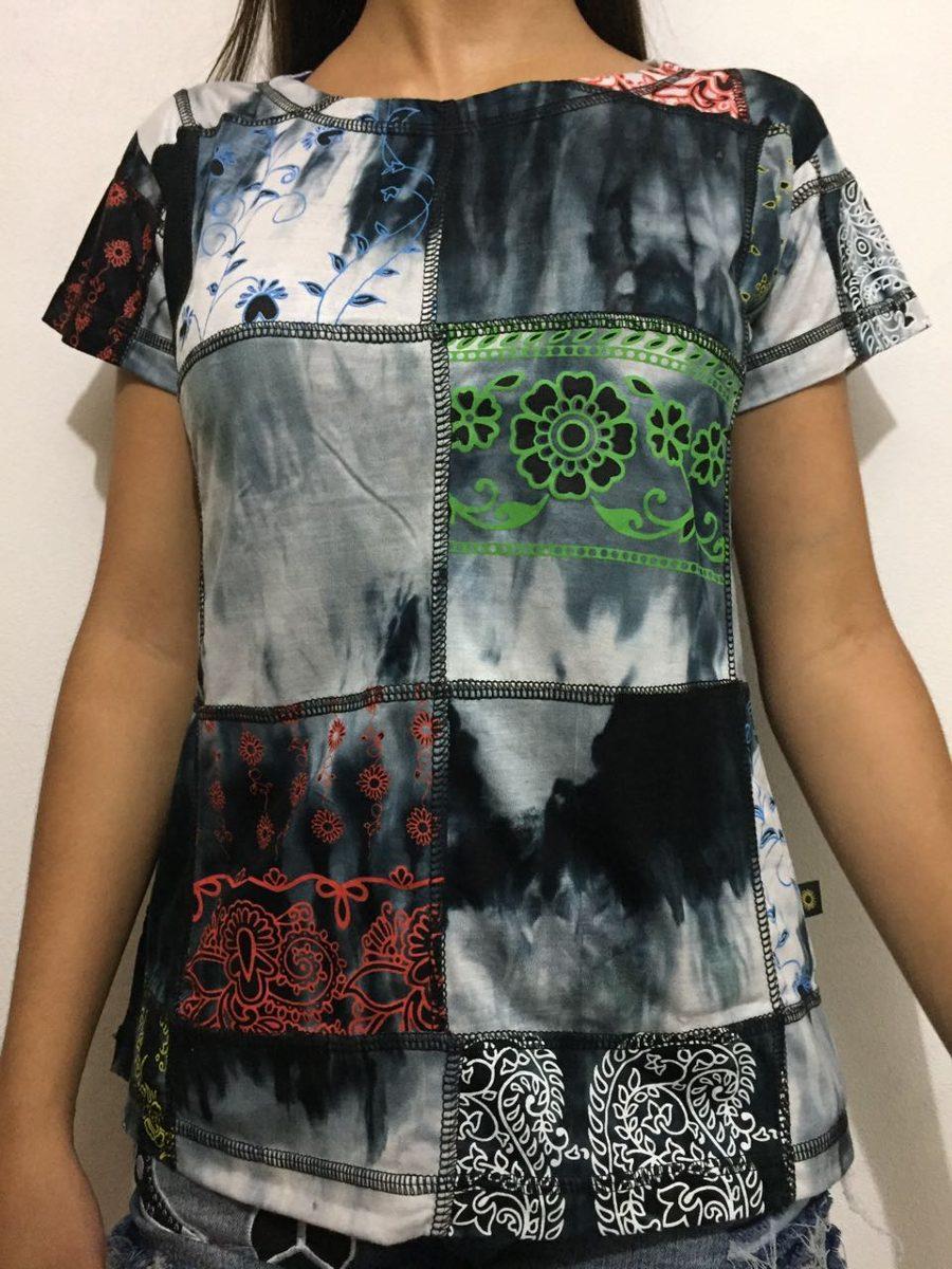 b26a6c579 camiseta bata indiana tie dye feminina - viscose. Carregando zoom.