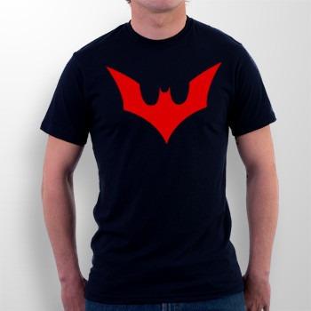 camiseta batman do futuro preta