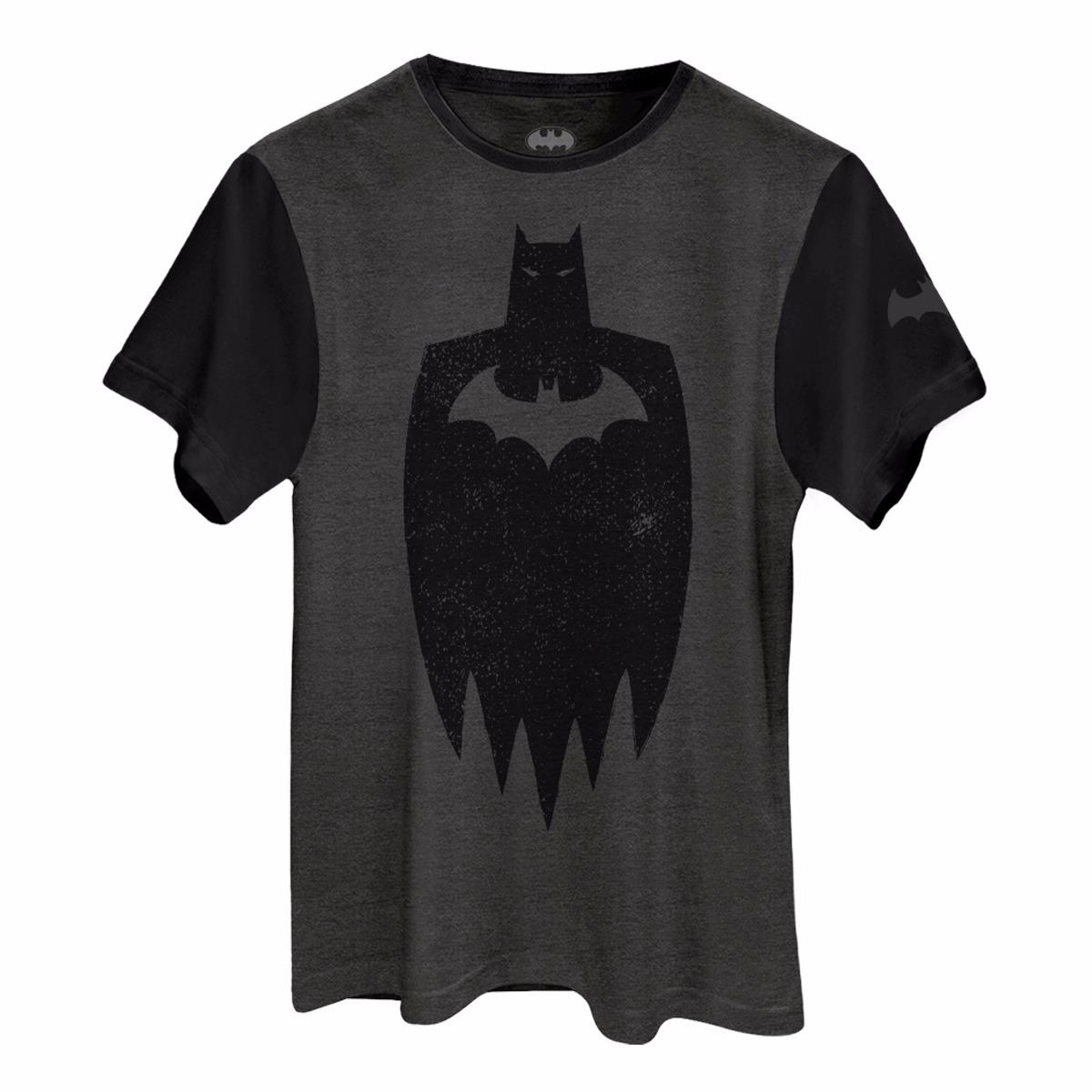 c44b9a96a Camiseta Batman Stencil Oficial Masculina - R  69