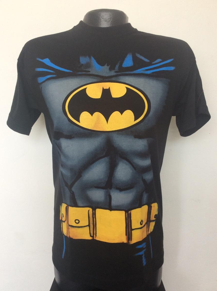 Camiseta Batman Torso Superheroes Rock Metal Anime Ska -   24.990 en ... 74375be484ae6