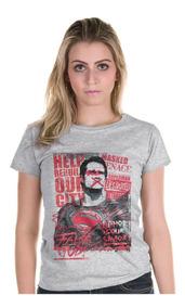 7e63033687 Dc Comics Camiseta Feminina - Calçados, Roupas e Bolsas com o ...