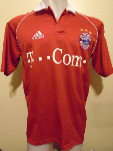 camiseta bayern munich 2005 2006 demichelis #6 argentina m-l