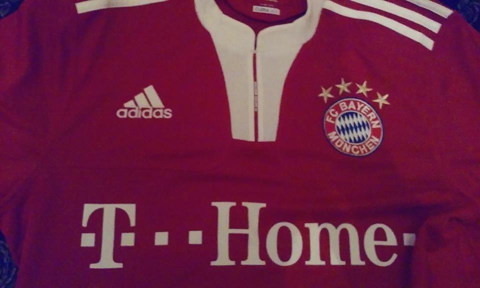 5ff7bee4c18f5 Camiseta Bayern Munich adidas 09 10 Titular - Talle M -   999