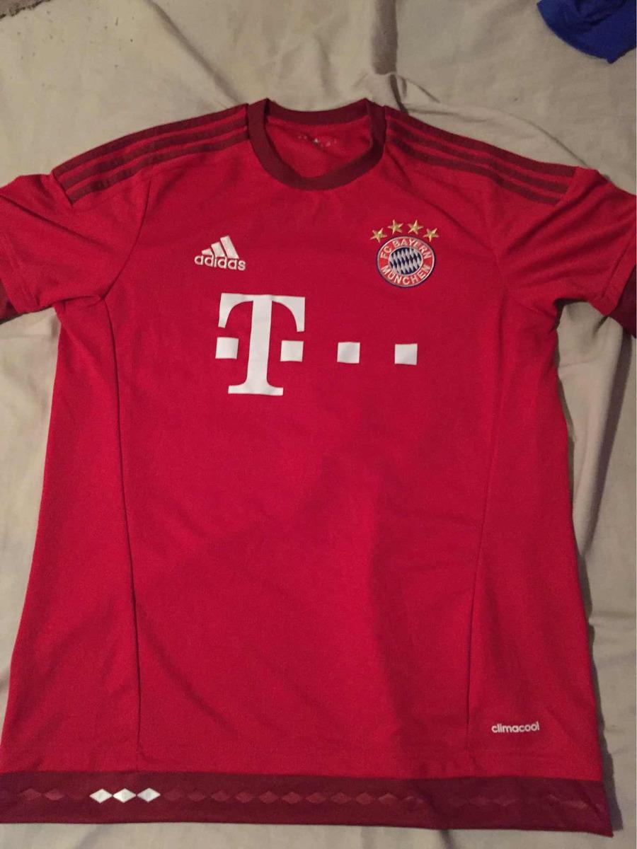 9bb673d0f7 Camiseta Bayern Munich Titular Impecable -   1.300
