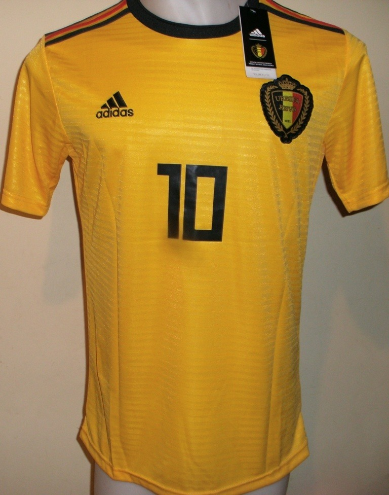 camiseta belgica amarilla mundial 2018 hazard. Cargando zoom. 22b78e09f6a85
