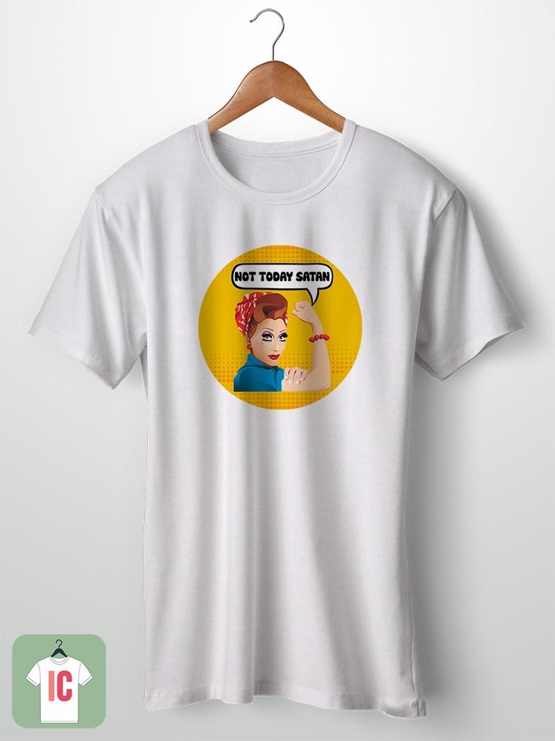232234395 camiseta bianca del rio not today satan. Carregando zoom.