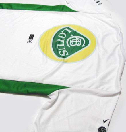 camiseta bicolor dry fit - estampa lotus f1 - es156