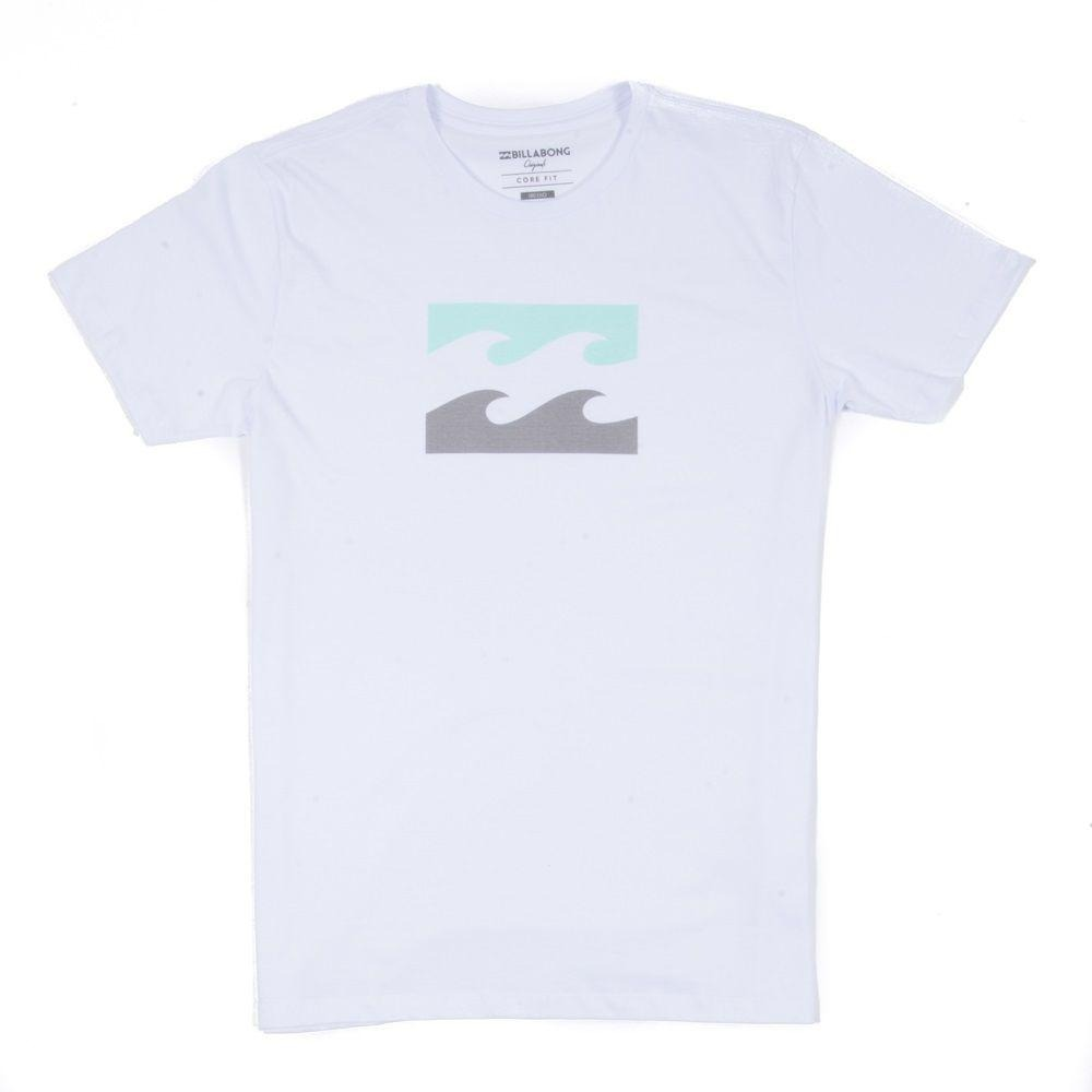 a7aa8ce32c709 camiseta billabong wave branca. Carregando zoom.