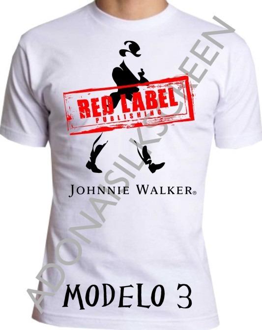 7218572982 Camiseta Black Label E Red Label M-3 - R$ 30,99 em Mercado Livre