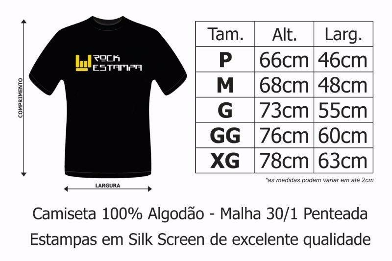 camiseta black sabbath - star. Carregando zoom. 31085fc38b7d0