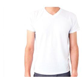 Camiseta Blanca Sublimacion 100% Poliester Tacto De Algodon!