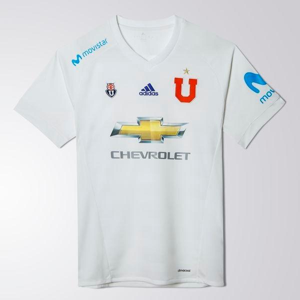 Camiseta Blanca U De Chile Niños 2017-2018 adidas Nueva -   14.990 ... 001e1a20c3516