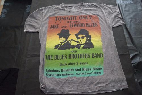 camiseta blues brothers importada rock activity talla l