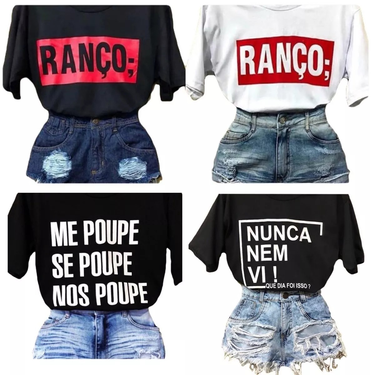 Camiseta Blusa Blusinha Ranço Embuste Fofa Grossa Plena2018 R 22