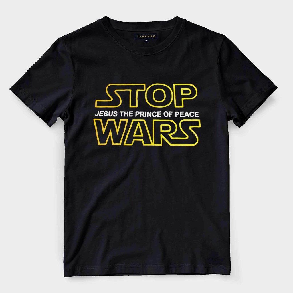 aaadfc88e Camiseta Evangelica Camisa Gospel Star Wars Jesus Blusa Cami - R  52 ...