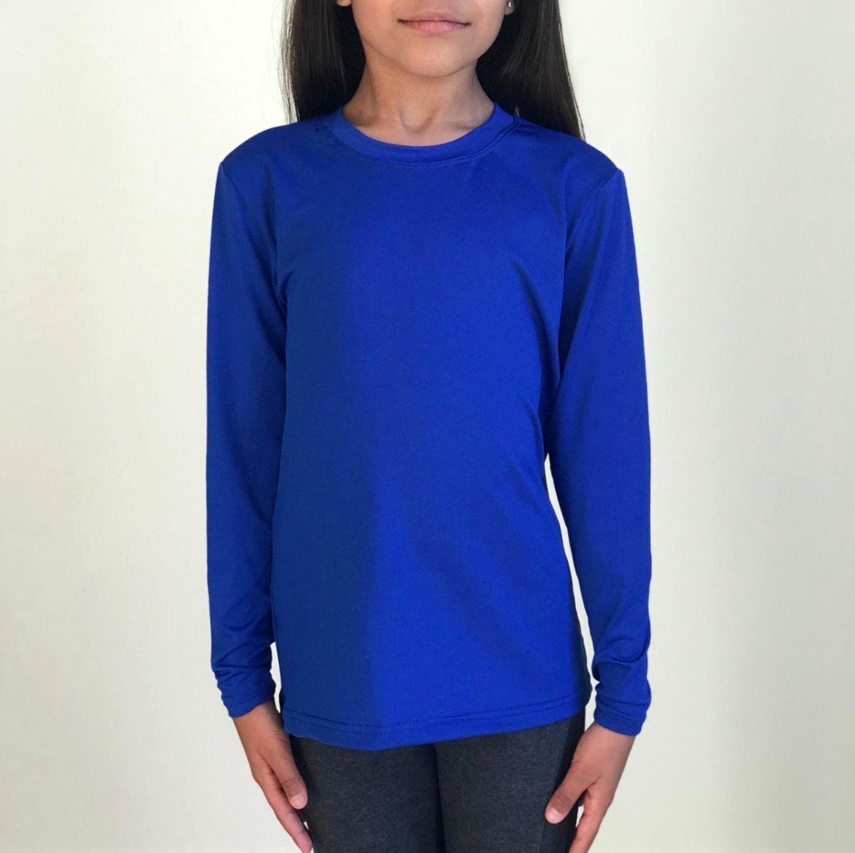 b6249169b5 Camiseta Blusa Camisa Corrida Infantil Transpirar Uv50+ - R  33