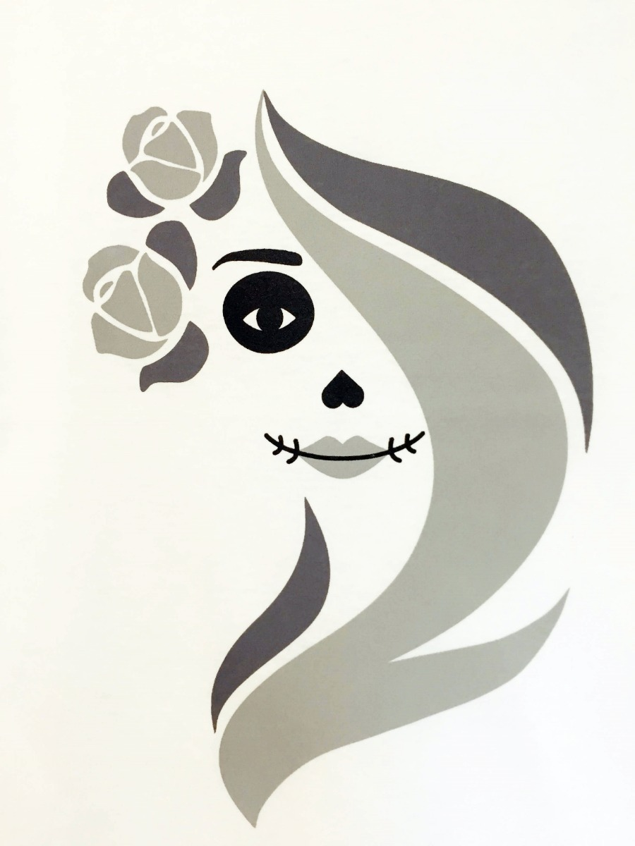 Camiseta Blusa Estampa Feminina La Catrina Mexicana Linda R 39