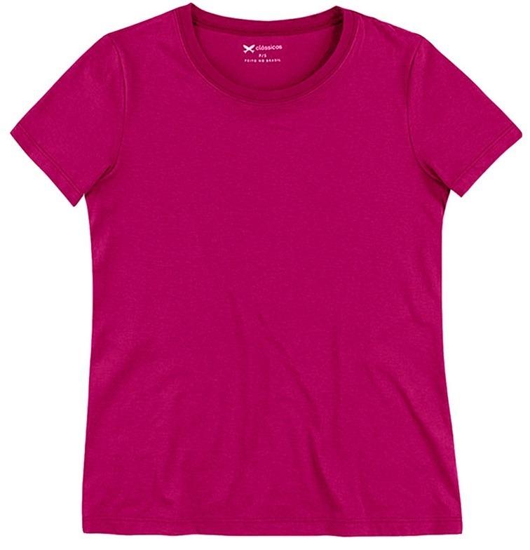 d59bbdc77b8b9 Camiseta Blusa Feminina Hering Básica ( 0241 )knh - R  35