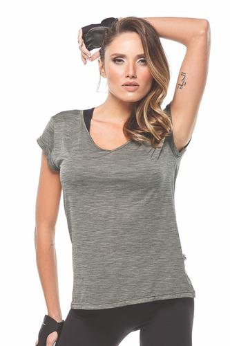 camiseta blusa manga curta academia - movimento e companhia