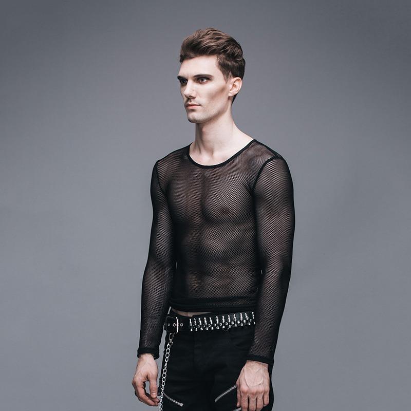 camiseta blusa masculina transparente preto courage. Carregando zoom. 6c0c9f742b2
