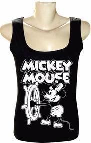 104de0dac Regata Do Mickey Feminina - Camisetas e Blusas no Mercado Livre Brasil