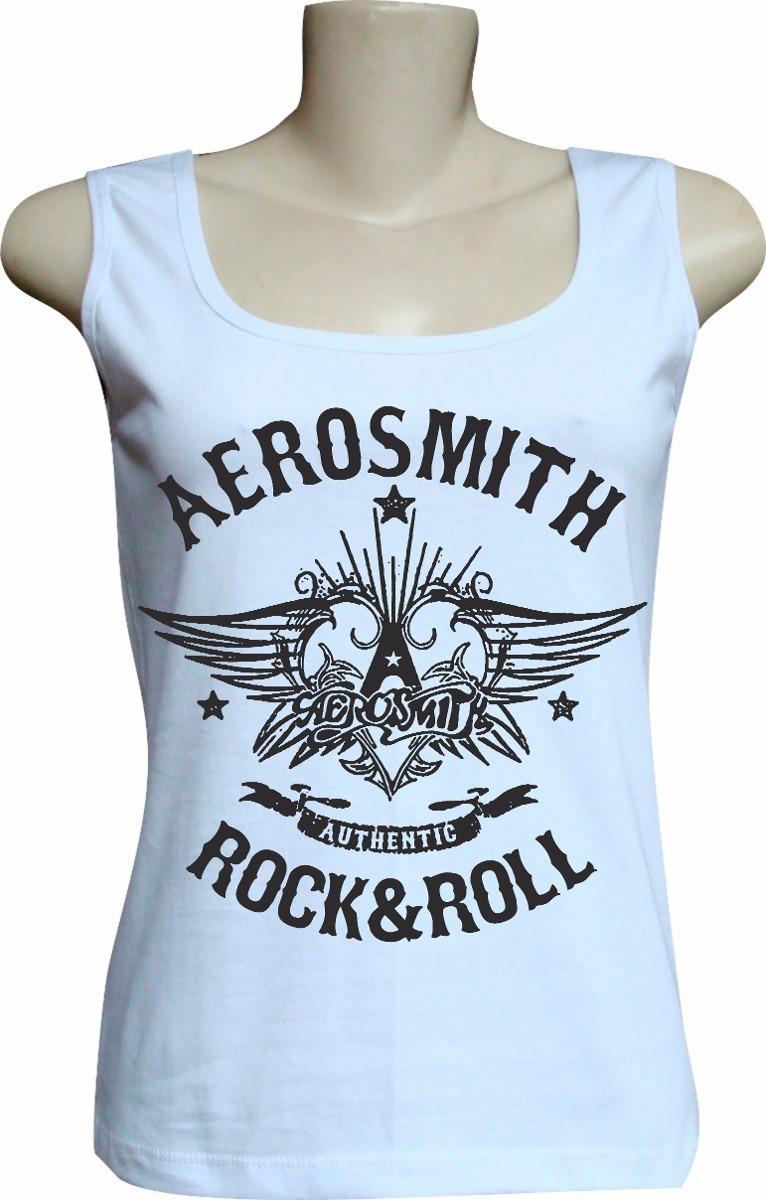 c826b78424 camiseta blusa regata feminina rock bandas aerosmith bca. Carregando zoom.