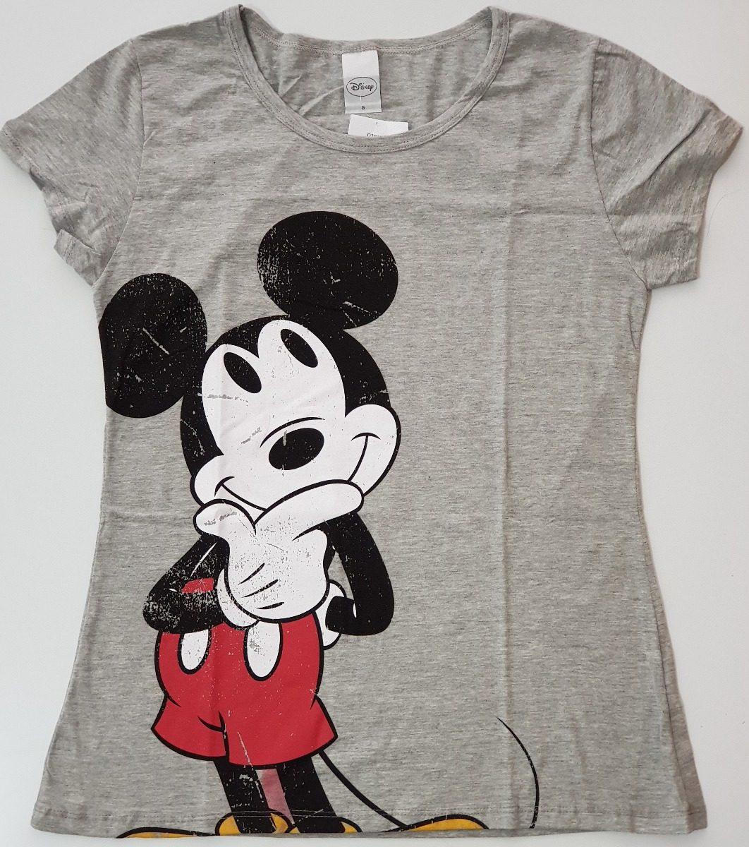 7a10d0972 Camiseta Blusa Feminina Roupas Disney Mickey Cativa - R  49