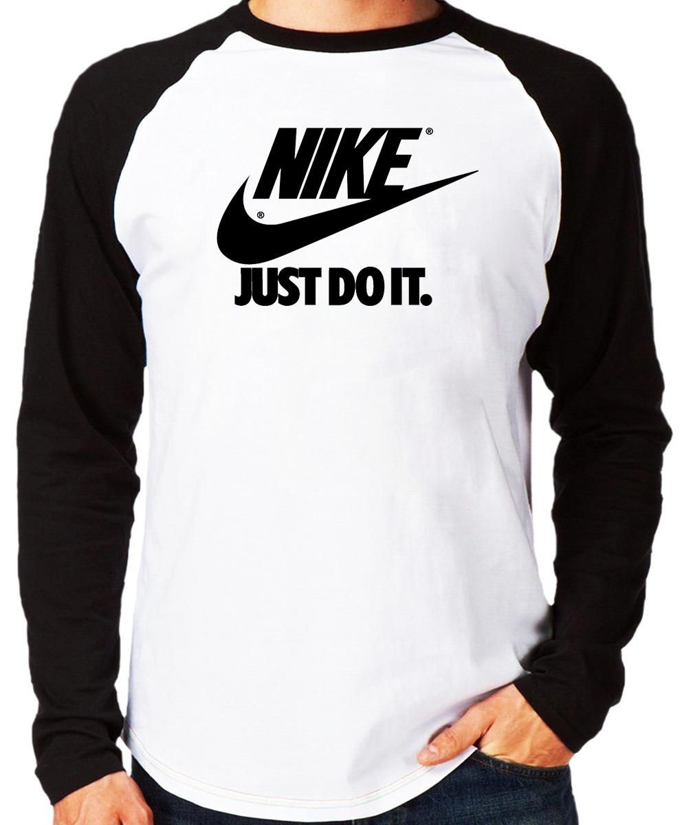 de8b5b4c62 camiseta blusa swag raglan longa rap camisa nike logo thug. Carregando zoom.