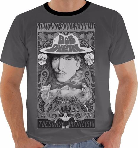 camiseta bob dylan - concert poster - stuttgart live pb m132