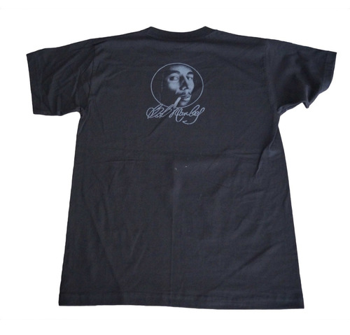camiseta bob marley rock activity importada talla m
