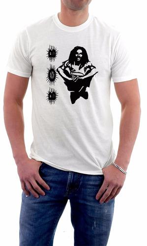 camiseta bob marley v