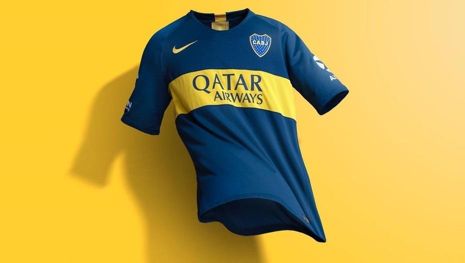 camiseta boca 2018 2019 titular original match envío gratis. Cargando zoom. 7d4bcbf8046c3