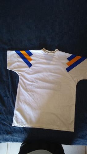 camiseta boca jrs adidas blanca parmalat 1992