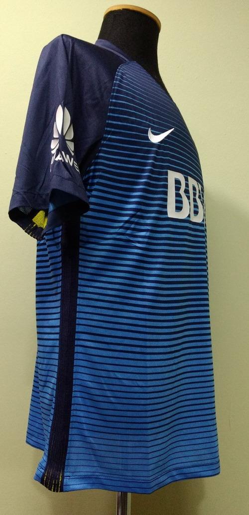 eb511eada7 camiseta boca juniors 2016-2017 alternativa azul nike. Cargando zoom.