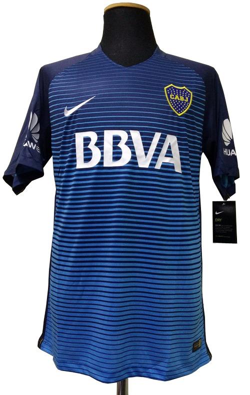 15e87686bf Camiseta Boca Juniors 2016-2017 Alternativa Azul Nike -   1.400