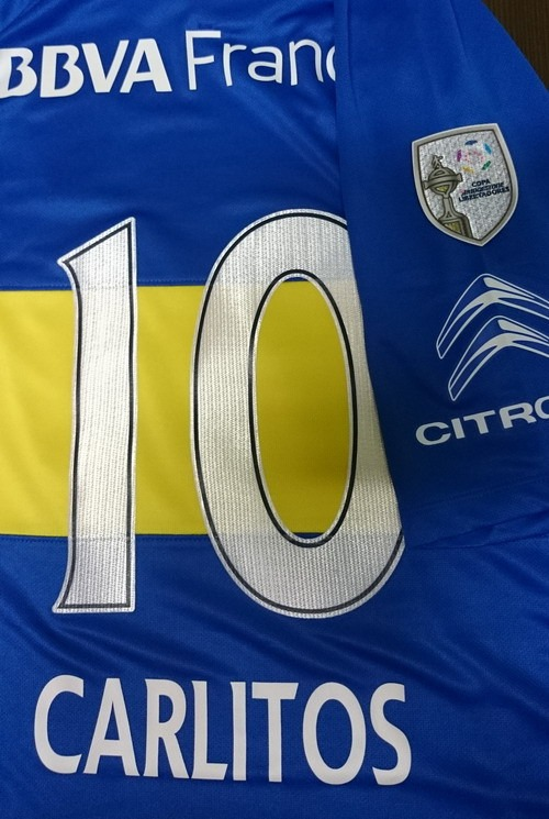 3ab84dcde72b8 Camiseta Boca Juniors 2016 Titular   10 Carlitos Nike Orig ...