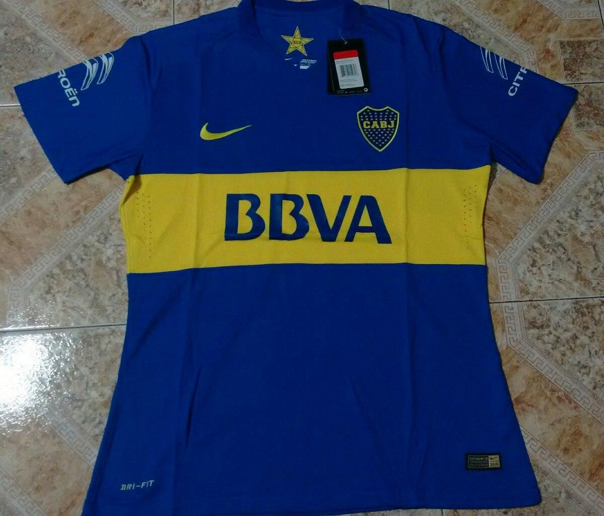 57cab8dc49157 Camiseta Boca Juniors 2016 Titular Match