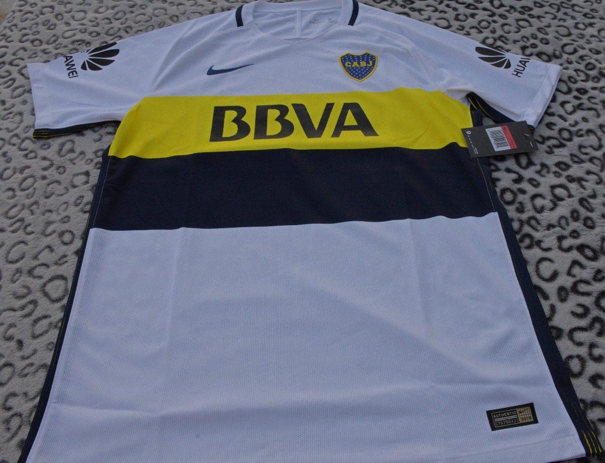 50ba8aabeabd5 Camiseta Boca Juniors 2017 Match - Nike Original - E. Gratis ...