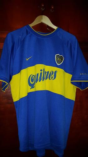 camiseta boca juniors año 2000