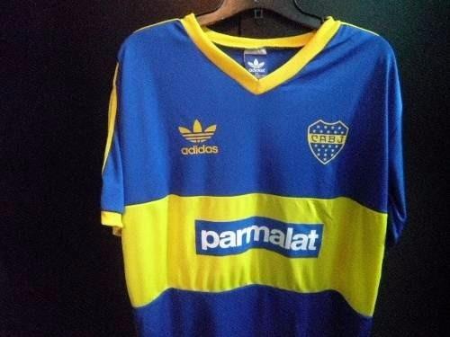 81d9b5edb7314 Camiseta Boca Juniors Retro Parmalat -   800