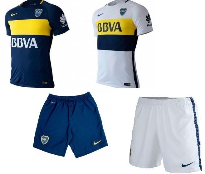 Camiseta Boca Juniors + Short Importado - S  330 e36331466e35b